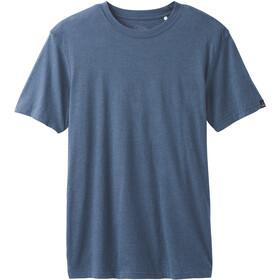 Prana Maglietta girocollo a maniche corte Uomo, blu